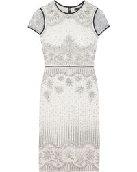 Catherine Deane Velma Tulle Embroidered Dress - Lyst