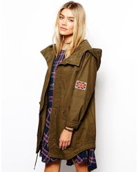 Pepe Jeans Parka - Lyst
