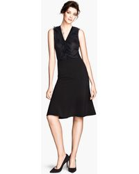 H&M Flared Skirt - Lyst