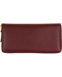 Comme des Garçons Leather Wallet - For Women - Lyst