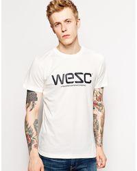 Wesc Tshirt - Lyst