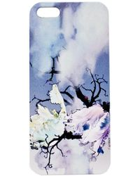 Cynthia Rowley Flower On White Iphone 5 Case - Lyst