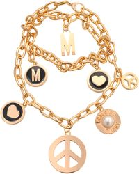 Moschino Multi Wrap Necklace - Lyst