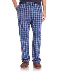 Derek Rose   Ranga Plaid Pajama Pants   Lyst