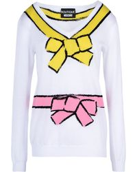 Boutique Moschino | Long Sleeve Sweater | Lyst