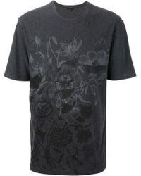 Gucci Floral Tshirt - Lyst