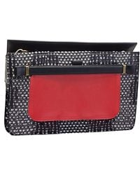 Vionnet Embossed Jacquard Clutch - Lyst