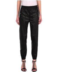 Blank Vegan Leather Trouser - Lyst