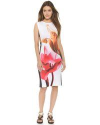 Clover Canyon Silent Flower Dress - White - Lyst