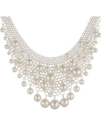 Kenneth Jay Lane 4907Nswp Necklace - Lyst