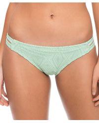 Hurley - Diamond Cut Spider Bikini Bottom Color: Green Size: Xs - Lyst