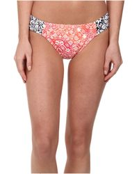 Tommy Bahama Coral Medallion Side Shirred Hipster Bottom - Lyst