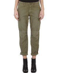 Rag & Bone Canvas Cargo Pants green - Lyst