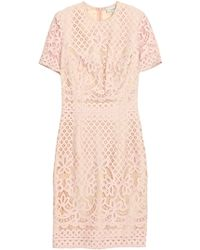 Lover Libra Fitted Dress Pink - Lyst