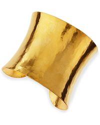 Herve Van Der Straeten - Epure Concave Gold Cuff - Lyst