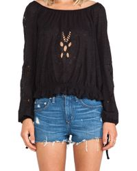 Free People Fpx Jewel Top - Lyst