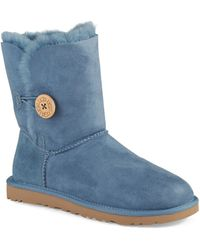 Ugg Bailey Button Sheepskin Boots - Lyst