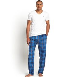 Diesel Mens Long Check Woven Pants - Lyst