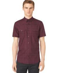 Calvin Klein Ghost Checked Shirt - Lyst