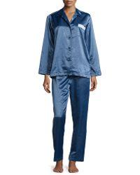 Louis At Home - Monaco Long-sleeve Pajama Set - Lyst