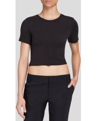 Alice + Olivia Top - Crop - Lyst