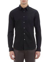 PS by Paul Smith Black Dress Shirt - Lyst