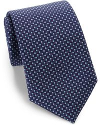 Corneliani Mini Circle Silk Tie - Lyst
