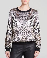 Grayse - Mixed Print Silk Pullover - Lyst