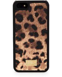 Dolce & Gabbana Leopard-Print Iphone 5 Case - Lyst