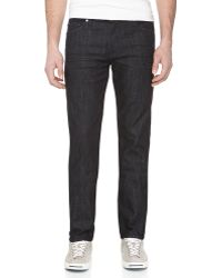 7 For All Mankind Slimmy Straightleg Jeans - Lyst