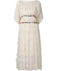 Tsumori Chisato Distressed Layered Dress - Lyst