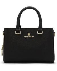 Vince Camuto - Thea - Leather Structured Small Satchel - Lyst