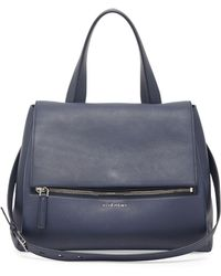 Givenchy Pandora Medium Waxy Flap Satchel Bag - Lyst