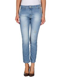 Massimo Rebecchi - Denim Trousers - Lyst