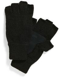 Brixton - 'cutter' Knit Fingerless Gloves - Lyst