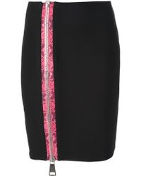 Christopher Kane Pink Detail Skirt - Lyst