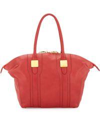 Rachel Zoe Morrison Paneled Leather Zip Tote Bag - Lyst