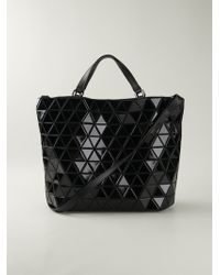 Bao Bao Issey Miyake Geometric Pattern Tote Bag - Lyst