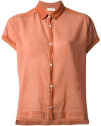 Forte Forte Pleated Short Sleeve Shirt - Lyst