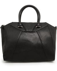 Mango Panel Tote Bag - Lyst