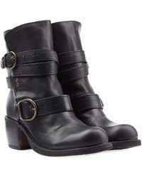Fiorentini + Baker Leather Biker Boots - Lyst