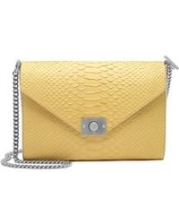 Mulberry Delphie Silky Snake-Leather Shoulder Bag - Lyst