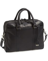 Frye 'Logan' Leather Messenger Bag - Lyst