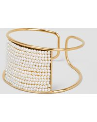 Medecine Douce - Knit Maxi Bangle Gilded Brass - Lyst