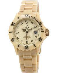 Toy Watch Imprint Horn Plasteramic Bracelet Watch - Lyst