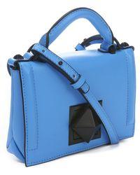 L.a.m.b. Powder Blue Elga Mini Shoulder Bag - Lyst