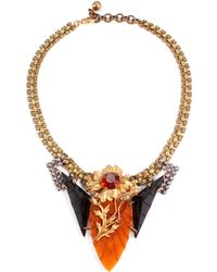 Lulu Frost 50 Year Necklace #28 gold - Lyst
