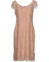 Maria Grazia Severi Short Dress - Lyst