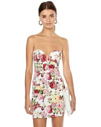 Nasty Gal Garden Life Floral Dress - Lyst