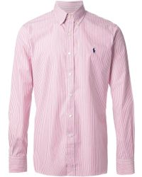 Polo Ralph Lauren P Striped Shirt - Lyst
